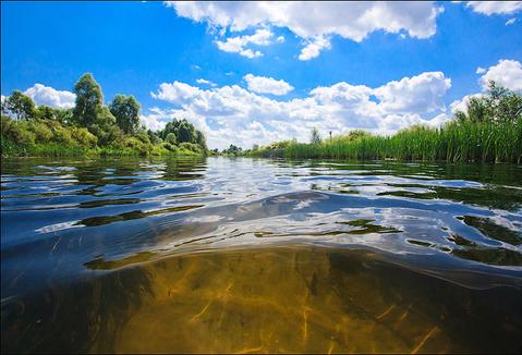 Покажите живописную фотографию реки?