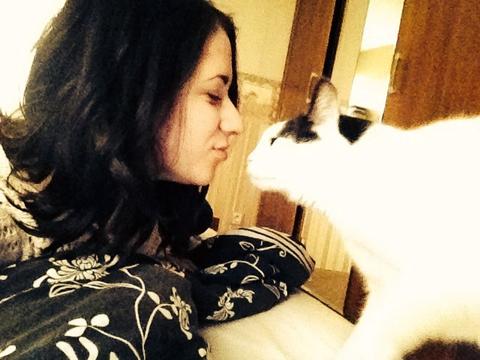 Я с котом тут вот в общем. :3
