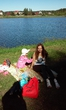 На пикнике в этот наконец то солнечный день.