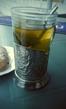 Эстонский чай, на радость, остывал очень медленно. =)