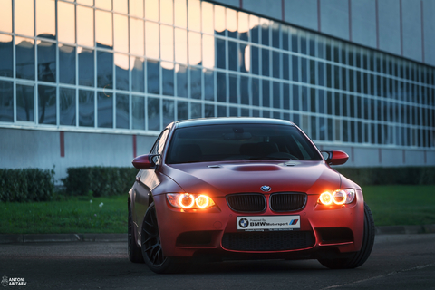 M3 E92 Individual Frozen Red
