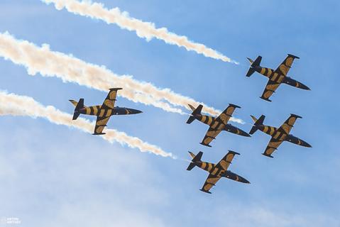 Латвийские истребители в Российском небе
