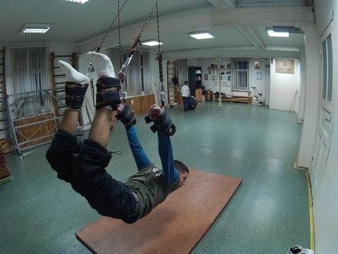 Верёвочки, перед тренировкой