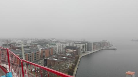 За туманом виден Копенгаген
