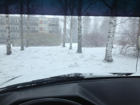 снова снег, как так вообще =[[[ (FINLAND,SALO)