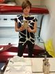 Первый раз себя сфоткала в зеркале, да еще и в солярии. ужас )))