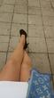 Очень редкое явление(раз в год))))))))Каблуки+юбка))