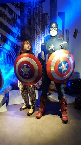 Капитанша Америка :D