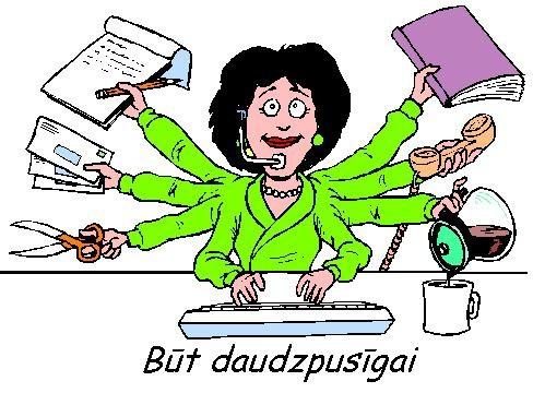 FOTO: Kāds ir sekretāres(-a) ideāls?