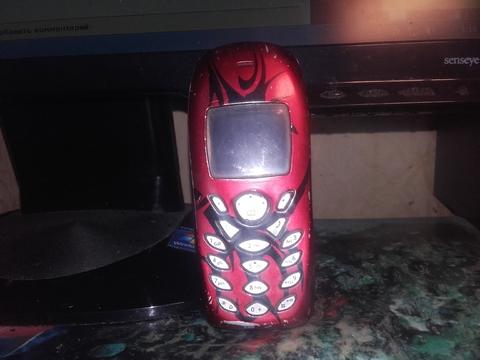 Мой телефон Siemens c60 в рабочем состояние