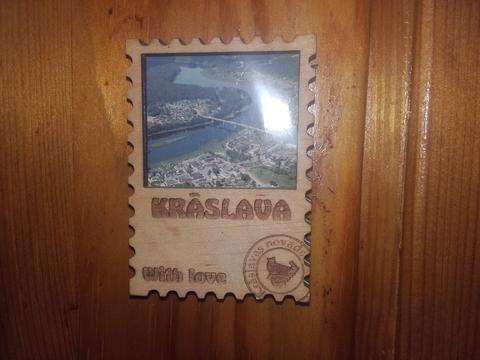 Эксклюзивный значок -города Краславы