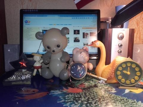 Моя коллекция игрушек из СССР