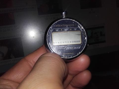 """Экслюзивные часы """"Электроника 5'"""