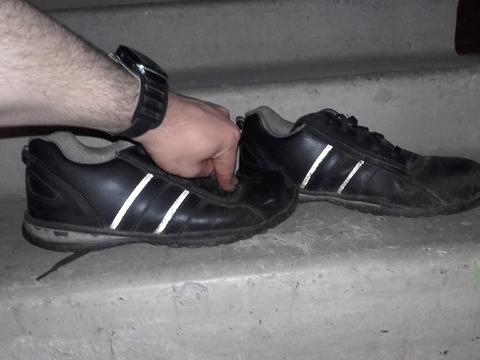 Мои кроссовки рабочии из Англии за 200 фунтов