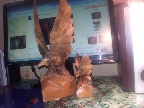 Эксклюзив-Два орла самодельной работы