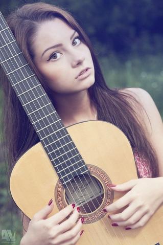 guitar )
