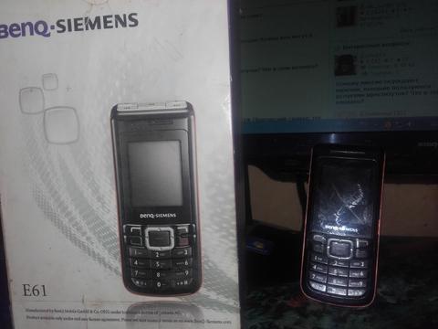 Эксклюзивный телефон Benq Siemens E61