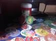 Моя коллекция фишек Покемонов с баночкой