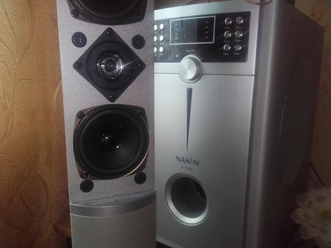 Моя система 5.1 -общая мощность 100 ват.
