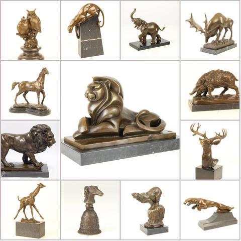 Статуэтки бронзовые Животные
