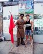 На страже Берлинской стены! ))