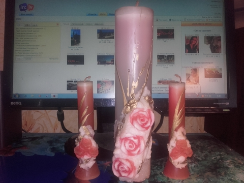 Эксклюзивные свечи из моей коллекции.