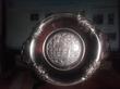 Эксклюзив-Золотистая тарелка с изображением Лисы