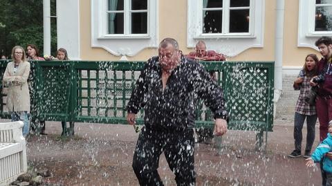 фонтан ожил...