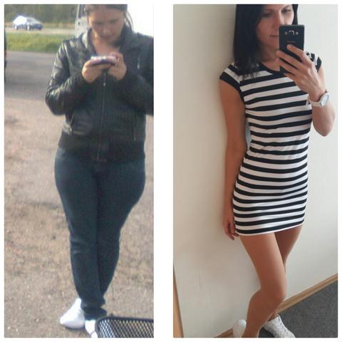 Разница в 20кг . Это был не самый большой вес