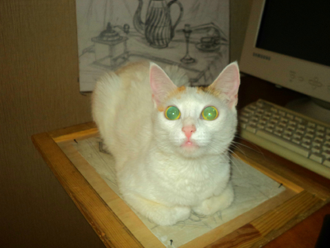 У Манечки такие потрясающие глазки!