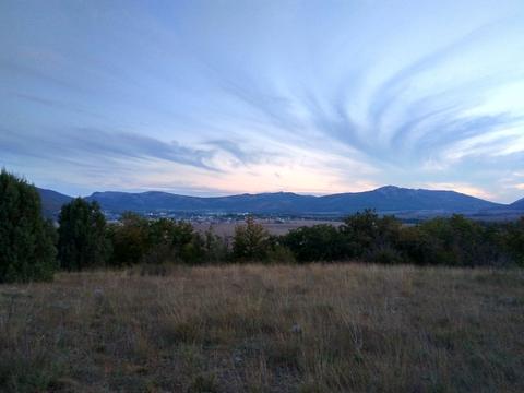 Закат над Байдарской Долиной