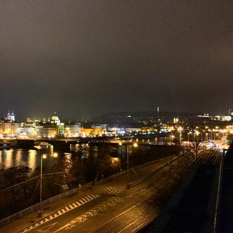 а я тут в Праге такой