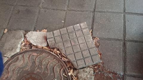 Кто обронил шоколадку? :))))