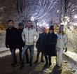 зимняя гвардия на покатушках ))