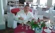 обед с шампанским!))