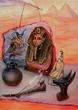 Мой натюрморт на египетскую тему.