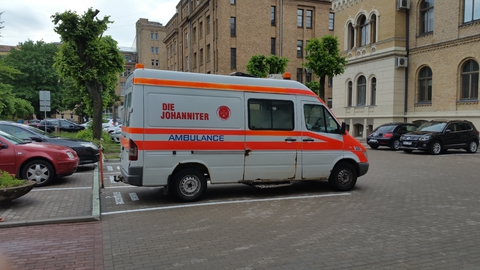 Euthanasia ambulance for Johanniter