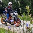 Мне тоже нравится фоткатся на мотоциклах:D