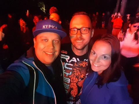 Magic Forest 2017, Grand Ligo celebration.Ja i Darkman trance.lv
