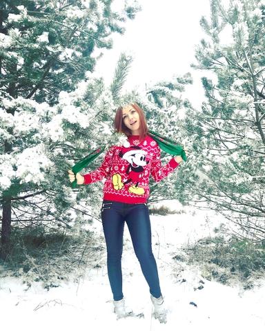 Зимушка зима ^_^ обожралась снега