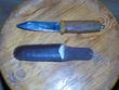 Самодельный нож сам делал из подшибника