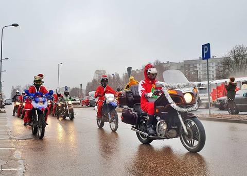 Moto Santas