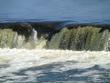 Латвия Кулдига 16.04.2019-водопад выпригивающая рыба