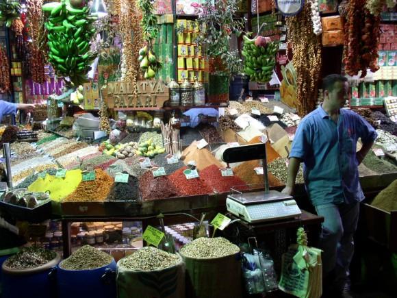 Можешь показать классный рынок/базар?