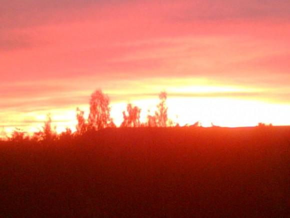 Покажите закат солнца вручную... ну пожалуйста!...