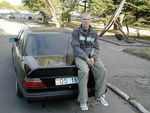 Ваша первая машина?