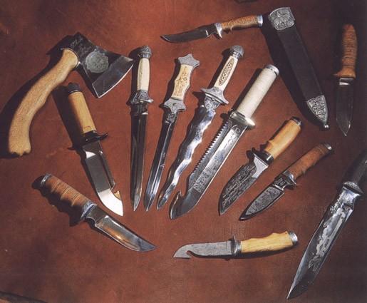 Покажите красивый нож для охоты/рыбалки?