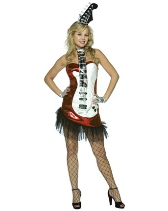Покажите платье в стиле глем - рок