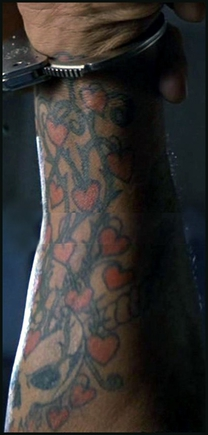 покажи тату руки полностью покрыта от кисти до локтя?
