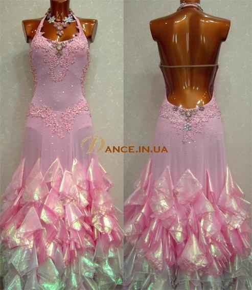 Платье для бального танца своими руками